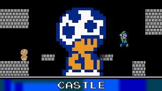 Castle Theme 8 Bit - New Super Mario Bros. Wii