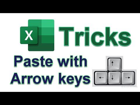 Shortcut Arrow with Excel