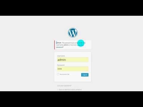 reset your wordpress login password by Mysql