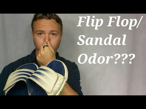 How To Get Odors Out of Flip Flops or Sandals-Tips & Tricks
