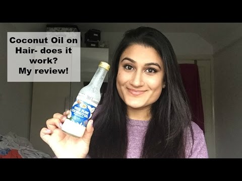 Coconut oil on hair- does it work? My review.