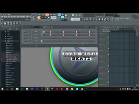 How to make reggae drums in fl studio 12
