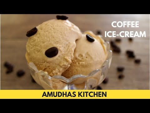 Coffee Ice Cream Recipe | How to make Coffee Ice Cream in Tamil | Summer Special