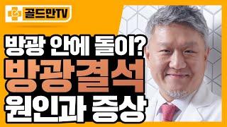 방광결석 진단과 치료방법은? (feat. 방광결석제거술)