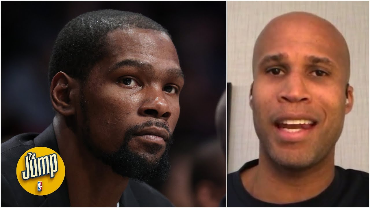 The Jump reacts to Kevin Durant's comments about James Harden and a possible trade