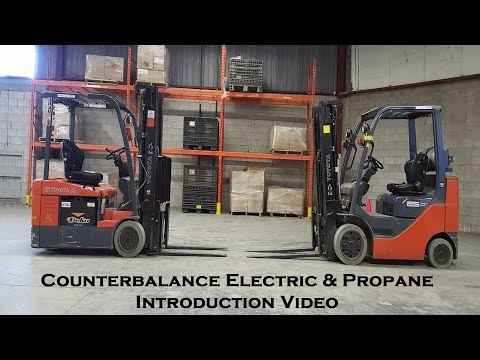 How to: Counterbalance Electric and Propane Forklift Introduction