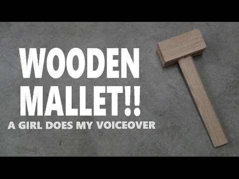 Rebekah Koontz Does My Voiceover!!! // How To Build A Wooden Mallet!!!