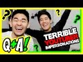 Impersonating Youtubers! (Q&A)