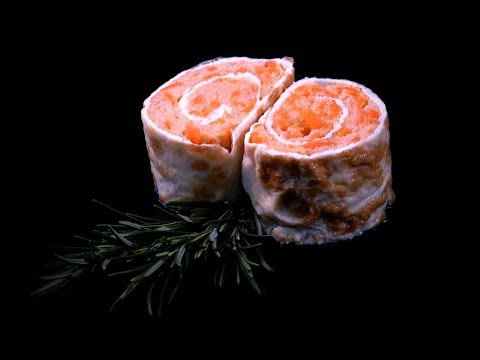 Chinese Egg Shrimp Rolls With Carrots (Chinese Style Cooking Recipe)