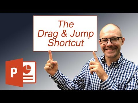 Geeky PowerPoint Shortcut: The Drag and Jump Shortcut