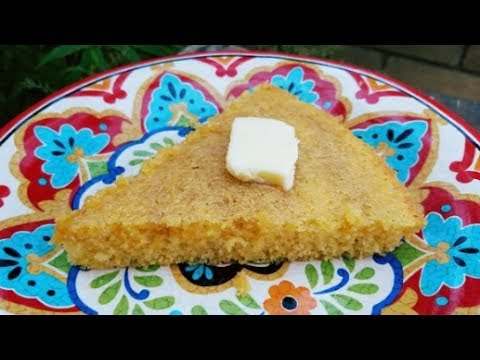 Sweet Cornbread Recipe - Cast Iron Skillet