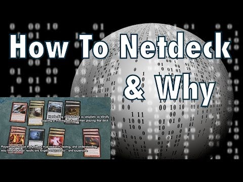 MTG - How To Netdeck: Using The Internet To Build And Improve Your Magic: The Gathering Deck