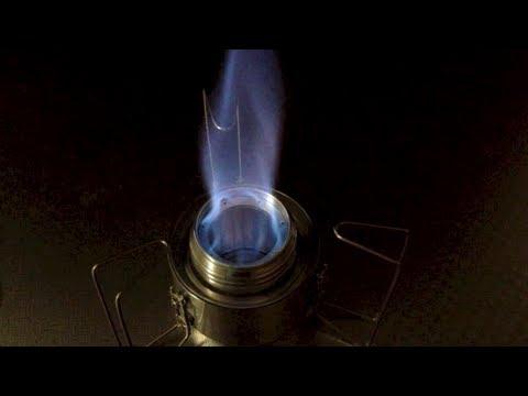 Tornado alcohol stove - I-B Stove  Hoop Version -