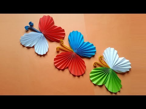 How To Make Colourful Butterflies  Easy & Simple Way!!!!