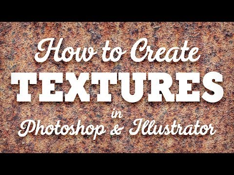 How To Create Your Own Texture Resources in Photoshop & Illustrator
