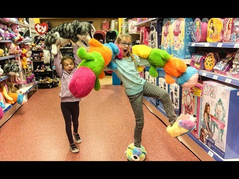 New Toy Hunting with Ewa and Sonia Toy Hunt series Princess Adventures TV