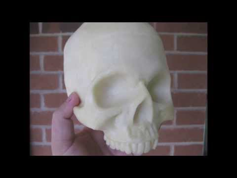 Making My Skull Mold (and Mike's Hatchet!)