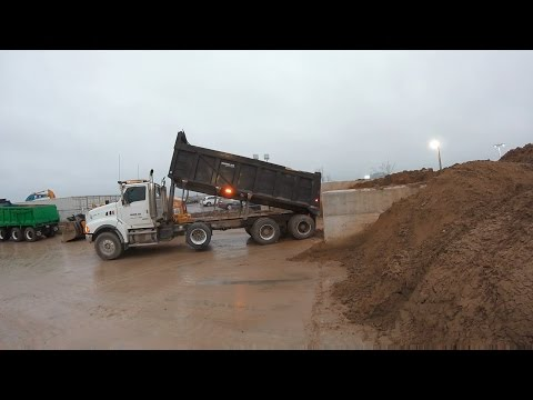 Day and life of a dump truck driver (Toronto Ont)
