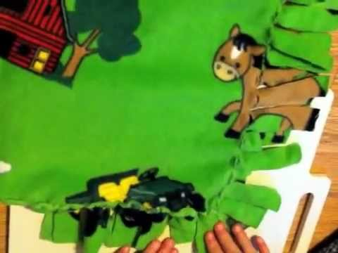 Make a Fleece Baby Blanket No Sewing fun project