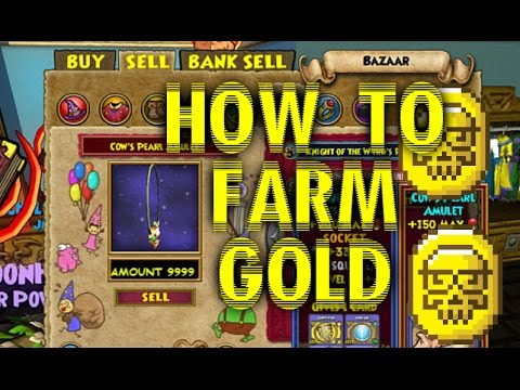 Wizard101: How To Farm Gold Fast!!