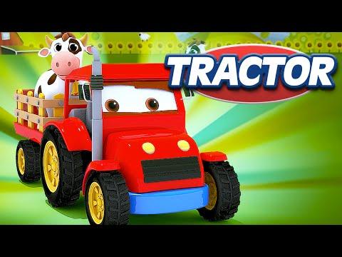 appMink build a Tractor - farm machine cartoon for children