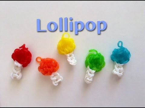 EASY Rainbow Loom Lollipop Charms