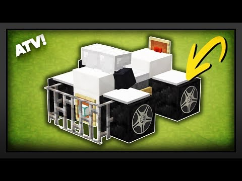 Minecraft - How To Make A ATV/Quad Bike