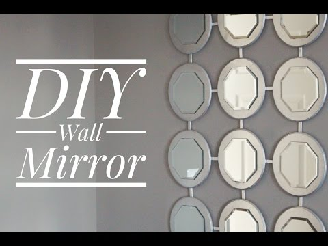 5 Easy Steps To Create A Beautiful Wall Mirror With Little Money