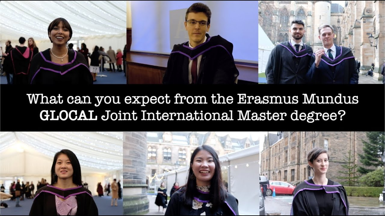 What's the Erasmus Mundus GLOCAL Joint International Master degree?