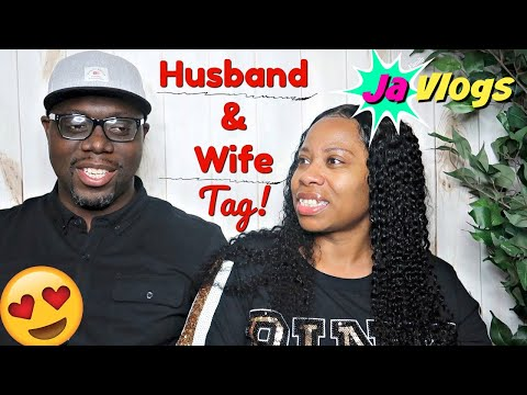 HUSBAND & WIFE TAG | GET TO KNOW US BETTER | Family Vlogs | JaVlogs