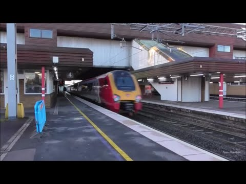 Non-Stop Passing Trains at Birmingham International