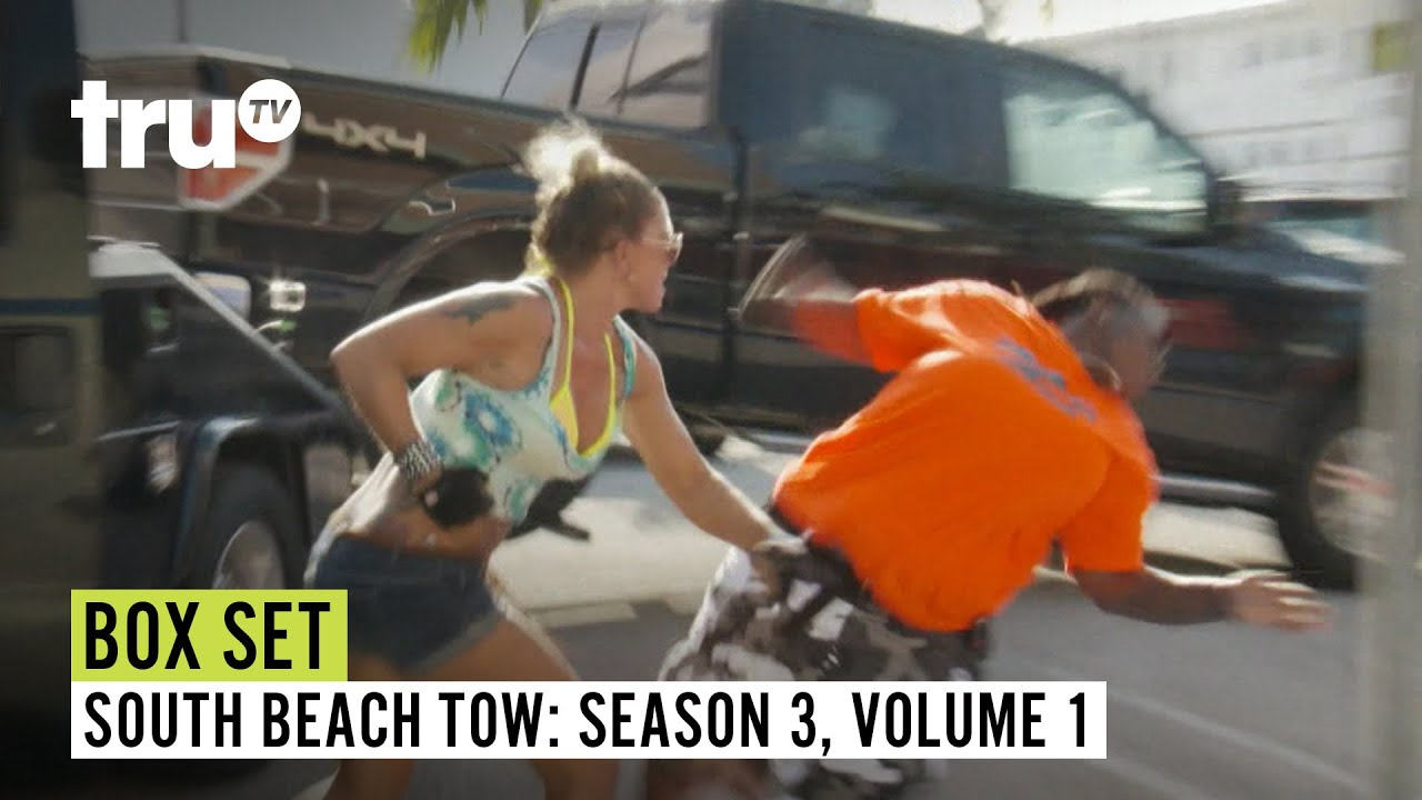 South Beach Tow   Season 3 Box Set: Volume 1   Watch FULL EPISODES   truTV
