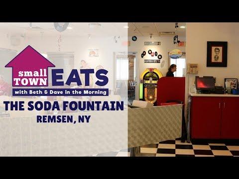 Small Town Eats: The Soda Fountain in Remsen, NY