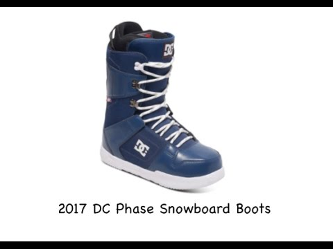 2017 DC Phase Snowboard Boots - Review - The-House.com