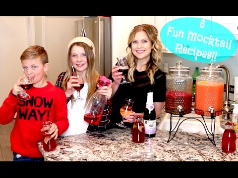 6 Mocktail Recipes!!