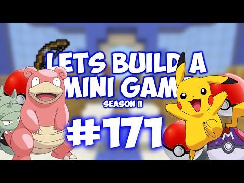 Minecraft Xbox - Lets Build A Mini Game World - 171 - POKEMON!!