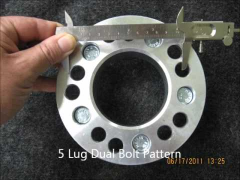 How to Measure Wheel Bolt Paterns.wmv