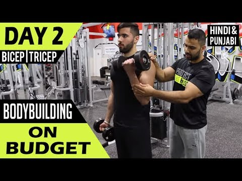 | DAY 2 | Bodybuilding on Budget ! (Hindi / Punjabi)