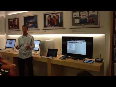 Online Reputation Marketing: Ryan Steinolfson Speaking At The Apple Store About Reputation Marketing