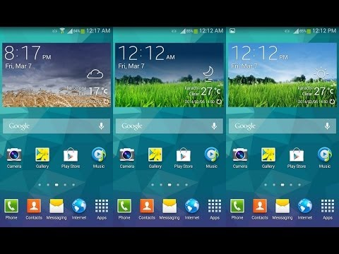 Install Samsung Galaxy S5 Weather Widget on Any Android Smartphone