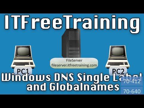 DNS GlobalNames