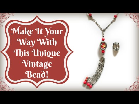 Make It Your Way--With This Unique Vintage Style Bead!