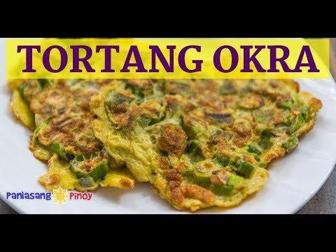 Healthy Tortang Okra | Lady Finger Omelet