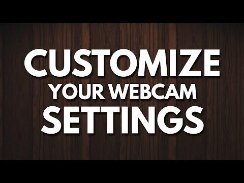 Custom / Manual Webcam Settings for Logitech Cameras
