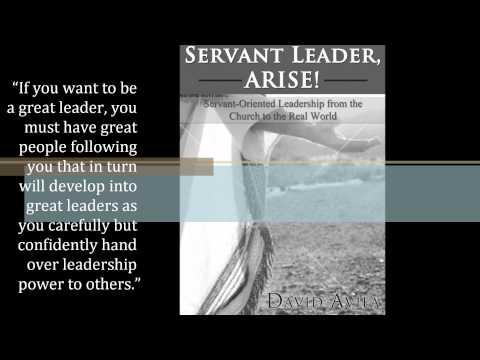 Book Promo SERVANT LEADER, ARISE!