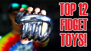 Download TOP 12 AWESOME FIDGET TOYS THAT ARE NOT HAND SPINNERS (REVIEW AND UNBOXING) Video
