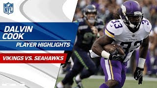 Every Dalvin Cook Play Against Seattle | Vikings vs. Seahawks | Preseason Wk 2 Player Highlights