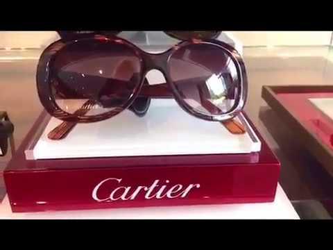 Shop Cartier Sunglasses and Eyewear at OPTX RI