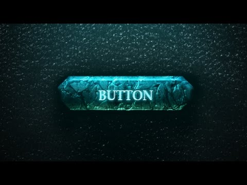 PHOTOSHOP - 3D Game Button