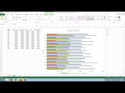 How to Add Data to an Existing Excel 2013 Chart